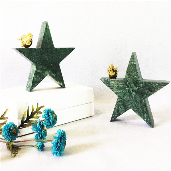 carved stone star