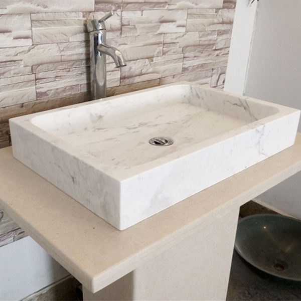 Bathroom Vanities Rectangular Marble