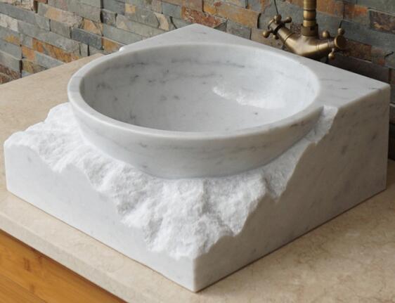 art design marble sink