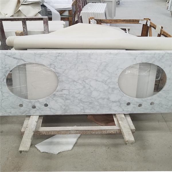 marble bathroom countertops