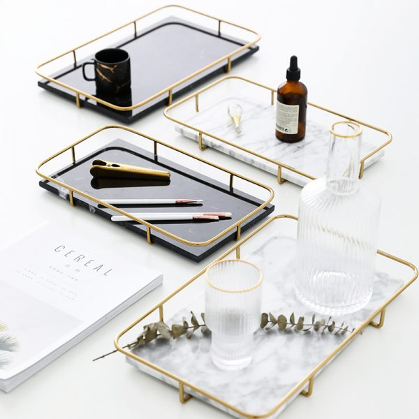 art design marble plate